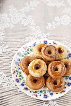 Tarjeta d embarque: Rosquillas de anis sin fritura {Kireei magazine 5}