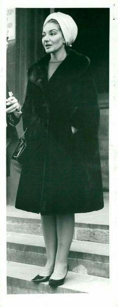 Maria Callas, La Divina. 1965.