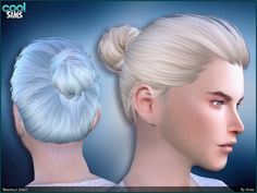 Bun for your male sims! Found in TSR Category 'Sims 4 Male Hairstyles'