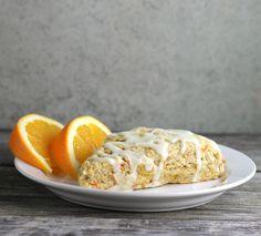 Orange Carrot Scones