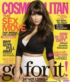 Kim Kardashian: My New Cosmopolitan Cover - Celebuzz