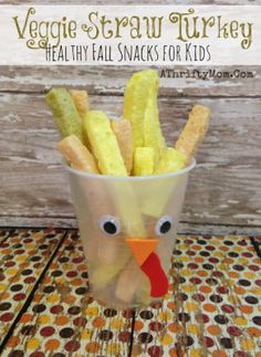 Store Bought Thanksgiving Class Party Snack Ideas