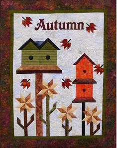 Beautiful wall hanging for Fall. Autumn is in the Air Quilt Pattern CC-522 by Country Creations - Lorraine Stangness.  Check out our seasonal patterns. https://www.pinterest.com/quiltwomancom/seasonal-patterns/  Subscribe to our mailing list for updates on new patterns and sales! https://visitor.constantcontact.com/manage/optin?v=001nInsvTYVCuDEFMt6NnF5AZm5OdNtzij2ua4k-qgFIzX6B22GyGeBWSrTG2Of_W0RDlB-QaVpNqTrhbz9y39jbLrD2dlEPkoHf_P3E6E5nBNVQNAEUs-xVA%3D%3D