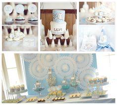Blue owl theme, baby boy's 1st birthday!
