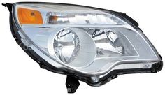Chevy Equinox Right Head Lamp Headlight Passenger Side Dorman 1592261 2010 2011 #Dorman