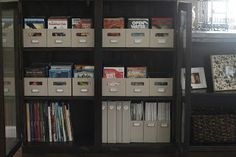 Neutral Territory: Organizing DVD's and video games