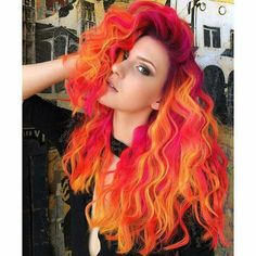 Guy Tang fiery phoenix hair