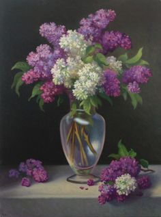 lilac painting (by Michael F. Coyle)