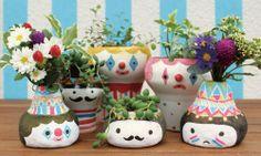Polkaros handmade pots and vases 2012