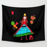 Witch Of Love Wall Tapestry#art #artwild#amp#artists #prints #cases #wall #shop #cases #iphone #skins #collections #wall #tshirts #azima #laptop #shop #artists #society #festival #print #artprints