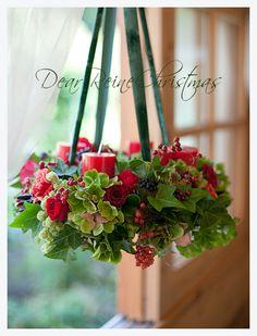 デザイン - 華造師 いしいあみ  #Christmas wreath #JFLA #ディアレイヌ #FLOWER