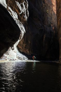 The Narrows, Zion National Park | Photo: Scott Cochran This is one of the most amazing hikes.