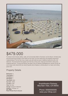 Free Modern Real Estate Flyer Templates. These templates are really easy to edit.