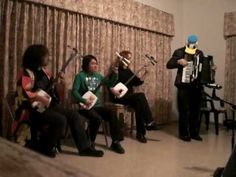 Weirdest Led Zeppelin cover on youtube! Shamisen and Accordion.