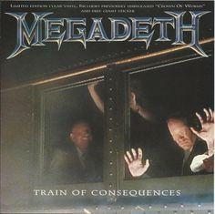 """#MONOGRAFIA #Megadeth ((Train of Consequences))  Con """"Train of Consequences"""" i Megadeth avviano la campagna promozionale di """"Youthanasia, il sesto full lenght della loro carriera datato 1994. Ad aprire le danze è la titletrack del singolo, un assaggio di ciò che erano i Megadeth a metà anni Novanta, ma con gli altri brani della tracklist Megadave e soci ci portano indietro nel tempo verso il loro glorioso passato. Cliccando sull'immagine si apre la recensione. Buona Lettura! Michele Alluigi"""