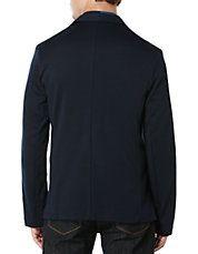 Notch Lapel Knit Jacket