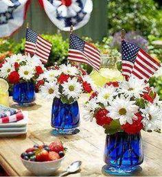 A triple salute to the U.S.A.