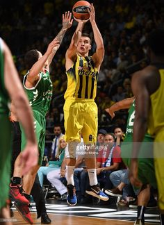 Bogdan Bogdanovic, #13 of Fenerbahce Istanbul in action during Turkish Airlines Euroleague Final Four Berlin 2016 Semifinal 1 Fenerbahce Istanbul v Laboral Kutxa Vitoria Gasteiz at Mercedez Benz Arena on May 13, 2016 in Berlin, Germany.