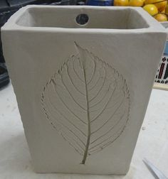 Slab Pot To Hang On The Wall