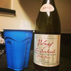 Drinking Burgundy from a solo cup... It's moving day