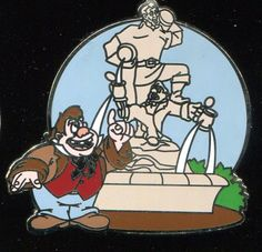 WDW New Fantasyland Beauty and the Beast Mystery Lefou Statue Disney Pin 94077