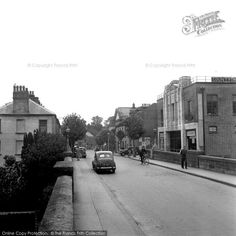 Haverfordwest, County Theatre And Picton Place 1950, from Francis Frith