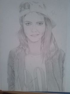 My first drawing from Cara <3