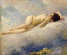 Reve d'Orient by Charles Amable Lenoir (Charles Amable  Lenoir) (Dream of the Orient), Oil on canvas