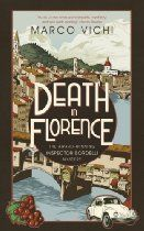 Death in Florence (Inspector Bordelli 4) By Marco Vichi - Florence, October 1966. The rain is never-ending. When a young boy vanishes on his way home from school the police fear the worst, and Inspector Bordelli begins an increasingly desperate investigation.  Then the flood hits. During the night of 4th November the swollen River Arno, already lapping the arches of the Ponte Vecchio, breaks its banks and overwhelms the city.