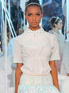 Louis Vuitton Spring 2012 Cotton Shirt With Collar