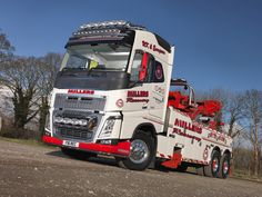 Millers of Longton Ltd's first new recovery truck is an FH16-750