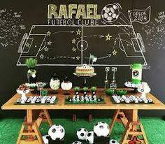 Resultado de imagen para festa infantil do futbol