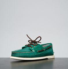 Green Boat Shoe.