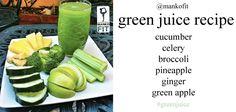 mankofit's green juice recipe #greenjuice #greenjuicerecipe #greenjuiceglow