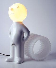 Lampa Mr P - Trafiony prezent