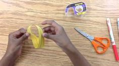 Earth Day magic trick! What happens when you cut a mobius loop in 'half'? Check out the video to find out!! http://cinnamonssynonyms.blogspot.ca/2015/04/mobius-loop-magic.html