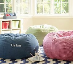 I love the Oversized Anywhere Beanbag Collection on potterybarnkids.com