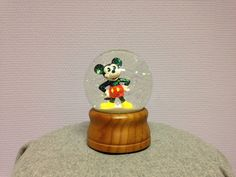 """Mickey Mouse snow globe with music """"It's a Small World after all"""" (I know, now you can't get the song out of your head anymore ;) )"""