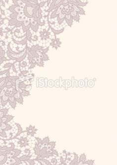 Lace card Royalty Free Stock Vector Art Illustration