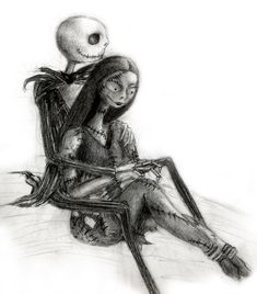 Jack and Sally by Aliquis01.deviantart.com on @deviantART
