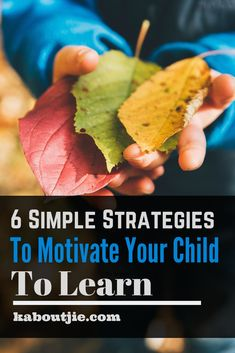 Education is such an important part of a child's life and if your child is motivated to learn it will make things so much easier for you and your child in the long term. Here's how to motivate your child. Gentle Parenting, Parenting Advice, Motivation For Kids, Happy Mom, Happy Kids, Thing 1, Child Life, Motivate Yourself, Kids Learning
