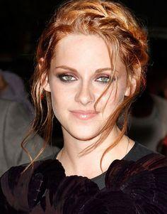 Kirsten Stewart´s braid.