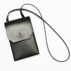Mini unique minimalist leather bag vegetable by PRZYWARASTRZALKA