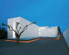 House for a Photographer II by Barcelona based OAB Carlos Ferrater, located in front of the sea, in Casas de Alcanar (Tarragona) in Spain. Architecture Cool, Minimalist Architecture, Residential Architecture, Contemporary Architecture, Spanish Architecture, Contemporary Homes, House 2, Exterior Design, Facade