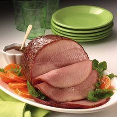 Cider-Glazed Honey-Baked Ham from Land O'Lakes