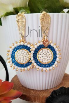 Jewlery, Jewellery Diy, Beading Tutorials, Ear Piercings, Earrings Handmade, Beads, Diy Kid Jewelry, Ear Rings, Jean Bag