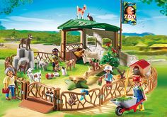 Children's Petting Zoo - 6635 - PLAYMOBIL® USA $30