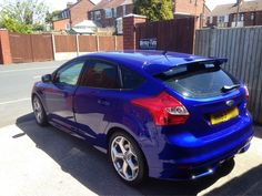 2013 Ford Focus ST in this morning for 18% Carbon tints to the rear for added style and comfort. Thanks Danny