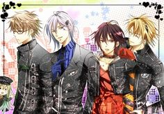 Group of: Amnesia !!! ! Handsome guys from the anime Amnesia ...