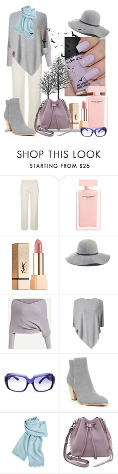 """""""Autumn Style"""" by bambi-52 ❤ liked on Polyvore featuring The Row, OPI, Narciso Rodriguez, Yves Saint Laurent, Hinge, Phase Eight, Roger Vivier, Donald J Pliner, Hermès and Rebecca Minkoff"""